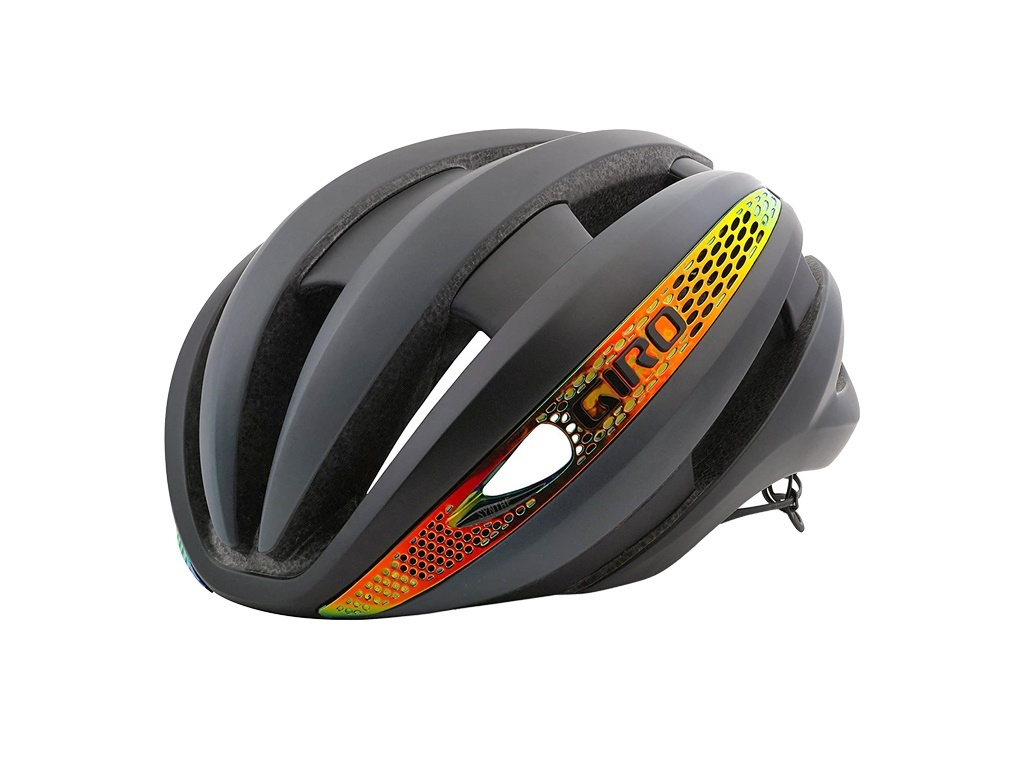 Capacete Giro Synthe Mips Fire Crome
