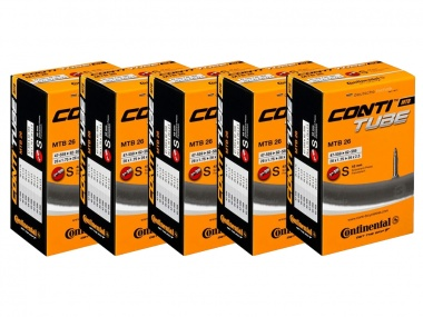 Kit Câmaras Continental MTB 26x2.25 42mm 5 unidades