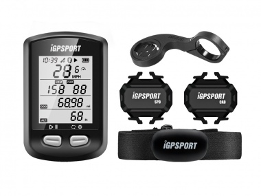 Ciclocomputador com GPS Igpsport iGS 10 Bundle