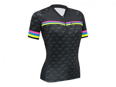 Camisa Z-Nine Sport Colors Bike Feminina
