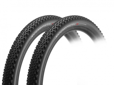 Kit Pneus Pirelli Scorpion MTB-H Prowall 29x2.20 Tubeless