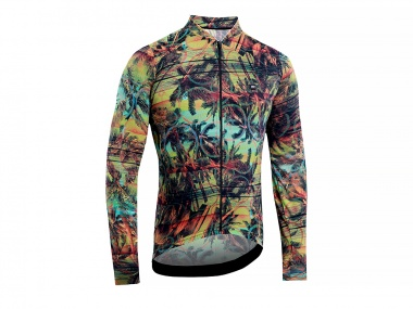 Camisa Marcio May Funny Bike Sunset Manga Longa
