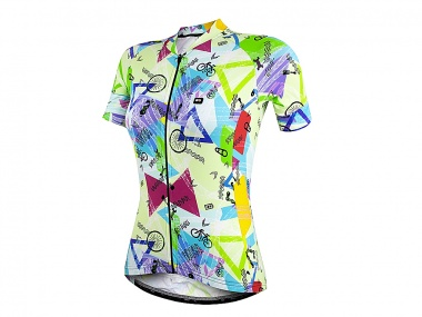 Camisa Marcio May Funny Colorfull Ride Feminina