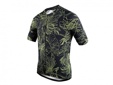 Camisa Marcio May Funny Monstera Leaves
